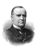 William Mckinley Prints - WILLIAM McKINLEY (1843-1901) Print by Granger