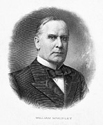 William Mckinley Framed Prints - WILLIAM McKINLEY Framed Print by Granger