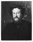 Arts And Crafts Movement Framed Prints - William Morris (1834-1896) Framed Print by Granger