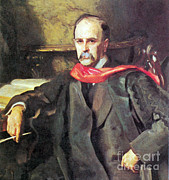 Knighted Metal Prints - William Osler, Canadian Physician Metal Print by Science Source