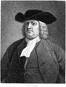 Quaker Art - William Penn (1644-1718) by Granger