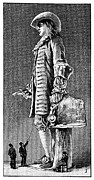 William Penn Photos - William Penn Statue, 19th Century by