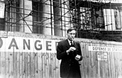 Smoking Cigarette Prints - William S. Burroughs, Writer, Circa Print by Everett
