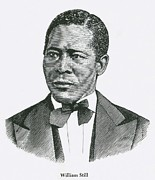 African Americans Prints - William Still 1819-1902 Was An Print by Everett