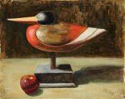 Apple Painting Originals - William Tell by Billie Colson
