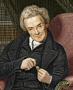Abolition Framed Prints - William Wilberforce, British Politician Framed Print by Sheila Terry