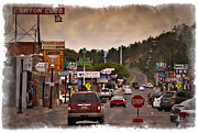 Williams Prints - Williams Arizona - IMPRESSIONS Print by Ricky Barnard