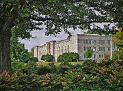 Virginia Tech Prints - Williams Hall Virginia Tech Print by Kathy Jennings
