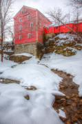 Glen Creek Prints - Williams Water Mill Print by James Marvin Phelps