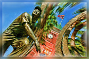 Att Park Art - Willie Mays  by Blake Richards