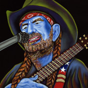 Nannette Harris Prints - Willie Print by Nannette Harris