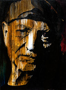 Home Interior Paintings - Willie Nelson by Brad Jensen