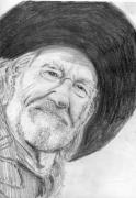 Texas Drawings - Willie by Will Stevenson
