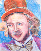 Willie Drawings - Willie Wonka  by Jon Baldwin  Art