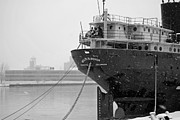 Lake Freighter Art - Willis B. Boyer by Russell Todd