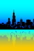 Willis Tower Digital Art - Willis Tower Chicago by Dejan Jovanovic