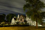 Luxury Digital Art Originals - Willistead Manor by night by Cosmin Nahaiciuc