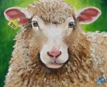 Ewe Prints - Willow Print by Laura Carey