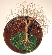 Sal Villano - Willow on Round Base -...