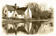Constable Framed Prints - Willy Lots Cottage Framed Print by Terence Davis