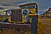 Jeep Prints - Willys 2 Print by Dennis Hofelich