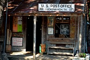 Luckenbach Framed Prints - Willys Place Framed Print by Antonia Citrino