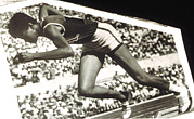 African-american Photo Posters - Wilma Rudolph, Winner Of 3 Gold Medals Poster by Everett
