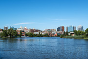 Wilmington Framed Prints - Wilmington Skyline Framed Print by John Greim