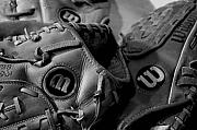 Baseball Glove Originals - Wilson 3 by Jame Hayes