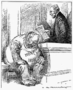 Wilson Cartoon, 1913 Print by Granger