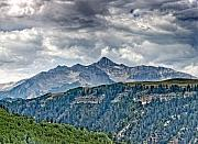 Coors Framed Prints - Wilson Peak in the San Juan Mountains of Colorado Framed Print by Brendan Reals