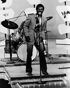 Drum Set Framed Prints - Wilson Pickett, Early 1970scsu Archives Framed Print by Everett