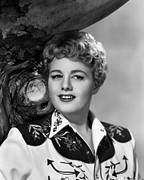 1950 Movies Photo Posters - Winchester 73, Shelley Winters, 1950 Poster by Everett