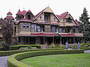 Haunted House Art - Winchester Mystery House by Daniel Hagerman