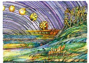 Syfy Mixed Media - Wind blew Sun by Richard Stratford