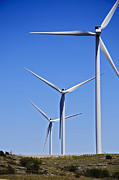Option Prints - Wind Farm I Print by Ricky Barnard
