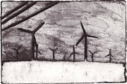 Wind Farming Print by Taylor Lee Bisbee
