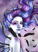 Fairy Prints - Wind Goddess Print by Lindsey Cormier