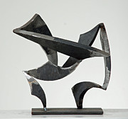 Steel Sculptures - Wind by John Neumann