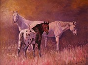 Wyoming Paintings - Wind River Three by Ed Breeding