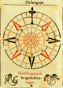 Wind Direction Posters - Wind Rose Poster by Science Source