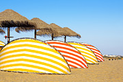 Suntan Metal Prints - Wind Shields Metal Print by Carlos Caetano