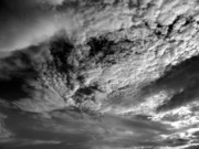 Boundless Prints - Wind Swept Sky Scape Print by Yali Shi