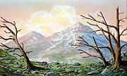 Pacific Crest Trail Paintings - Windblown by Frank Wilson