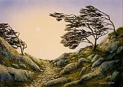 Pacific Crest Trail Paintings - Windblown Warriors by Frank Wilson