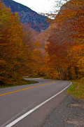 Fall Photographs Art - Winding Road by Robert  Torkomian