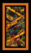 African-american Mixed Media Posters - Winding Roads I Poster by Angela L Walker
