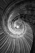 Allemagne Photos - Winding staircase by Falko Follert