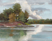 Lake Wylie Prints - Windjammer Park Print by Todd Baxter