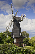 Mills Framed Prints - Windmill - Kent Framed Print by Donald Davis